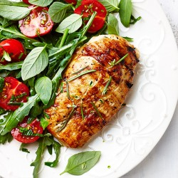 Bourbon Glazed Chicken Breasts - 1kg