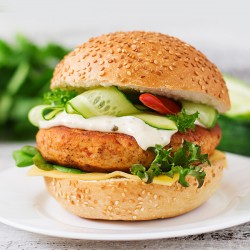 Sweet Chilli Chicken Burgers - 2 x 113g