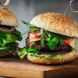 Free Range Steak Burgers 4 x 113g