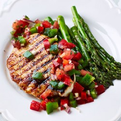 2 x 6-7oz Lean Turkey Breast Steaks