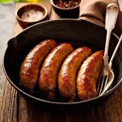 Pork & Leek Sausages - 454g