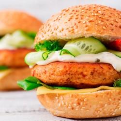 Tikka Masala Chicken Burgers - 2 x 113g
