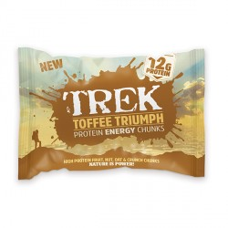 Trek Protein Energy Chunks - Toffee