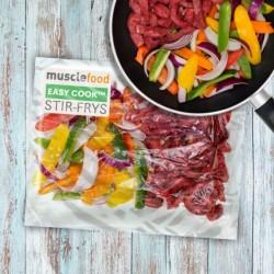 Chinees Stijl Varkensvlees Roerbak 1 Persoon