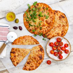 269 Kcal Margherita Snack Pizzas - 3 Pack