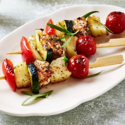 3 x Vegetable Kebabs