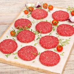 10 x 113g Free Range Rump Steak Burgers