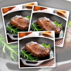 10 x 170g Matured Free Range Sirloin Steaks