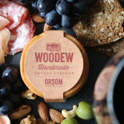 Woodew Cherry Wood Smoked Cheddar 200g