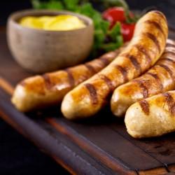 Pork & Wholegrain Mustard Sausages - 454g