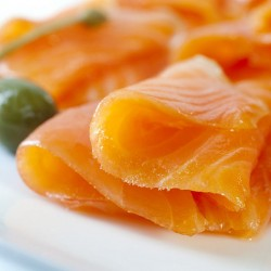 Limoncello & Rosemary Infused Smoked Salmon