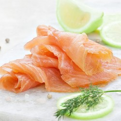 Tequila and Lime Smoked Salmon