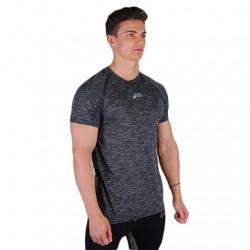 Pursue Slub Fitted T-Shirt - Black/White