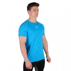 Pursue Slub Fitted T-Shirt - Blue/White