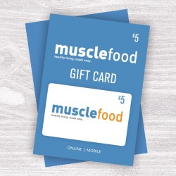 Muscle Food Gift Vouchers - £5
