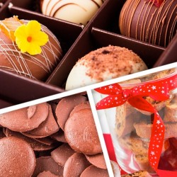 Luxury Chocolate and Biscuit Selection