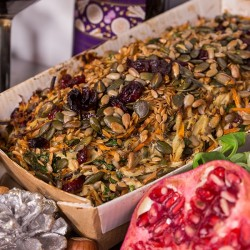 Festive Vegetable, Seed and Berry Roast - 442g