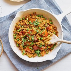[MOCK] Veganes Lamm Keema Curry - 350 g