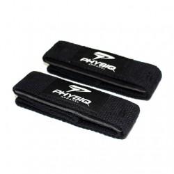 Physiq Padded Lifting Straps - Black