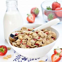 Strawberry Protein Crunchies - 400g