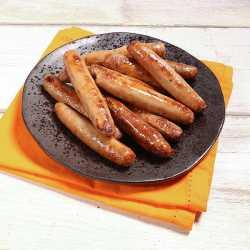 12 x 38 g Chili- und Knoblauch-Schweinewürstchen