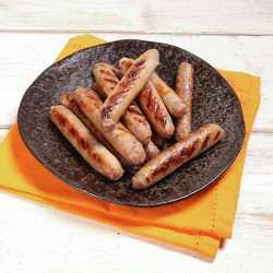 12 x 38 g Schweinewürstchen mit karamellisierten Zwiebeln