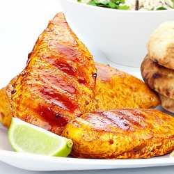 Spicy Tikka Glazed Chicken Breasts - 1kg