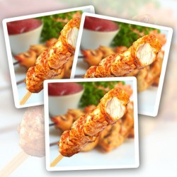 Spicy Chicken Breast on a Stick - 10 Pack