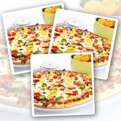 Hell Fire Chicken Protein Pizza - 3 Pack