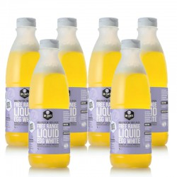 Free Range Liquid Egg Whites - 6 x 970ml