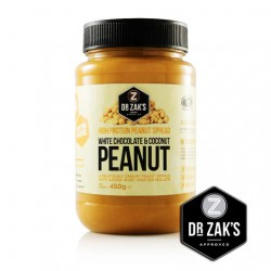 White Choc & Coconut Peanut Butter - 450g