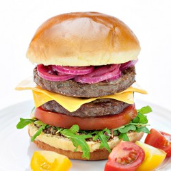 Fat Free Beefy Burgers