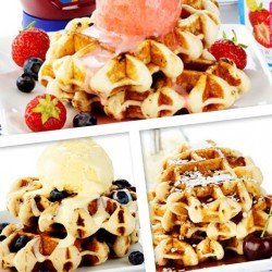 High Protein Waffles Variety Pack (3)