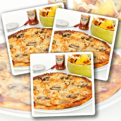 Hot Peri Peri Chicken Protein Pizza - 3 Pack
