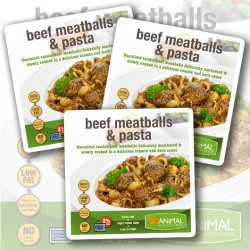Beef Meatballs & Pasta - 6 Meals