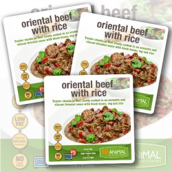 Oriental Beef With Rice - 6 Meals