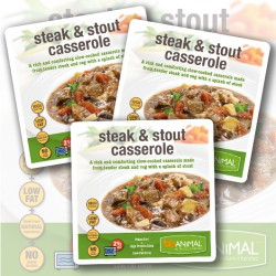 Steak & Stout Casserole - 6 Meals