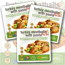Turkey Meatball & Pasta - 6 Meals