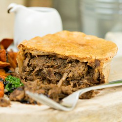 High Protein Pulled Beef Pie