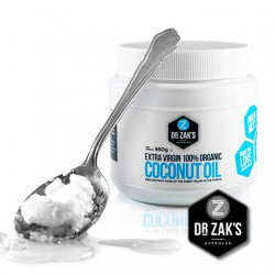 Dr Zak's Extra Virgin Organic Coconut Oil