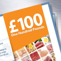 Muscle Food Gift Vouchers - £100