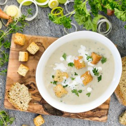 High Protein Potato & Leek Instant Soup
