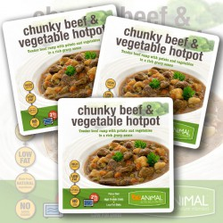 Chunky Beef & Veg Hot Pot - 6 Meals
