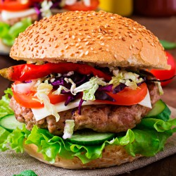 Turkey Thigh Burgers - 2 x 113g