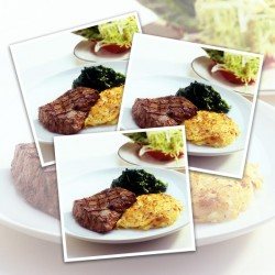 Lite Beef™ Ribeye Steak- 10 x 113g