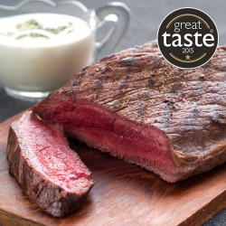 2 x 6-7oz Great British Venison Steaks