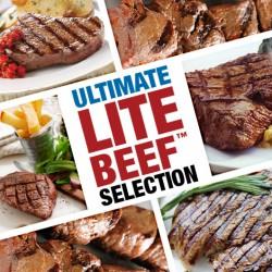 Lite Beef™ Selection - 12 Steaks & Diced Beef!