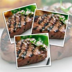 10 x 6-7oz Free Range Hache Steaks