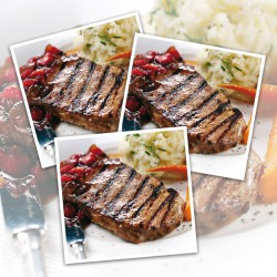 10 x 7-8oz Matured Free Range Ribeye Steaks