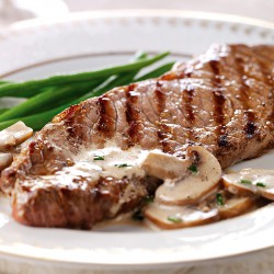 2 x 8-9oz Free Range Matured Sirloin Steaks